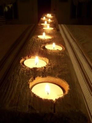 Deocração com velas..............