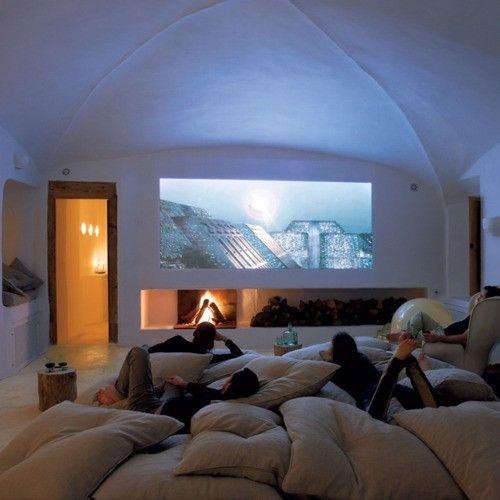 Cinema em casa......